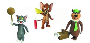 Hanna-Barbera Tom & Jerry / Yogi Bear 3-Inch Action Figure Assortment Case