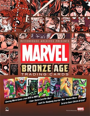 Marvel Bronze Age 1970-1985 Trading Cards Pack