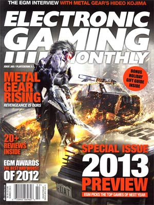 Electronic Gaming Monthly #258 Jan / Feb 2013