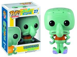 POP Television 27 SpongeBob SquarePants Squidward Vinyl Figure