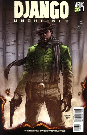Django Unchained #1 Incentive Jim Lee Variant Cover