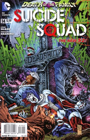 Suicide Squad Vol 3 #14 2nd Ptg (Death Of The Family Tie-In)