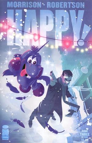 Happy #3 Variant Rian Hughes Cover