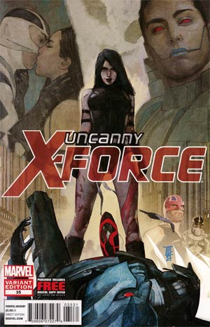 Uncanny X-Force #35 Variant Alex Maleev Final Issue Cover