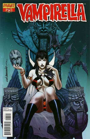 Vampirella Vol 4 #25 Incentive Lui Antonio Risque Variant Cover