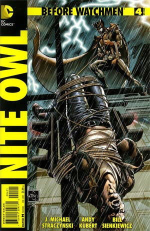 Before Watchmen Nite Owl #4 Cover B Incentive Ethan Van Sciver Variant Cover