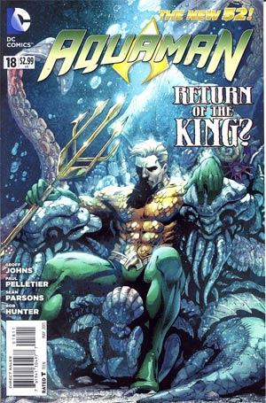 Aquaman Vol 5 #18 Regular Paul Pelletier Cover