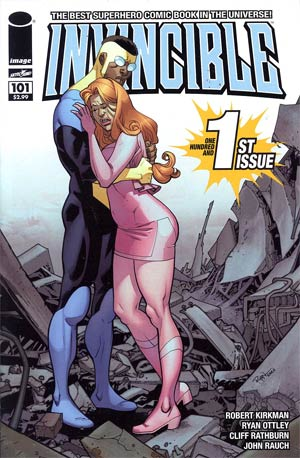 Invincible #101 Cover A 1st Ptg