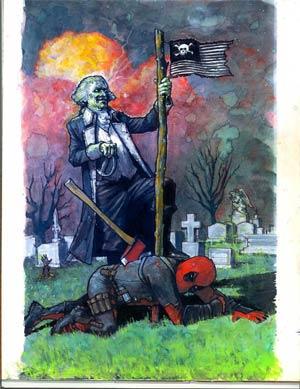 Deadpool Vol 4 #6 Regular Zach Baldus Cover