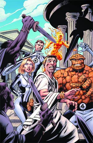 Fantastic Four Vol 4 #5 Cover A Regular Mark Bagley Cover