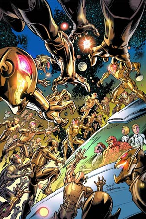 Fantastic Four Vol 4 #5 AU (Age Of Ultron Tie-In)