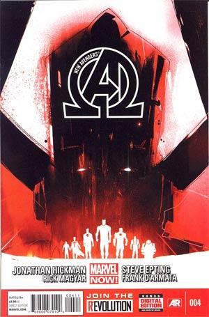 New Avengers Vol 3 #4 1st Ptg Regular Jock Cover