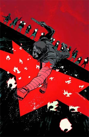 Winter Soldier #16 Cover A Regular Declan Shalvey Cover