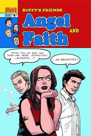 Angel And Faith #20 Variant Rebekah Isaacs Cover