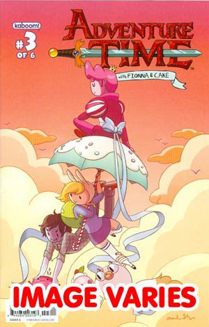 DO NOT USE Adventure Time Fionna & Cake #3 Regular Cover (Filled Randomly With 1 Of 2 Covers)