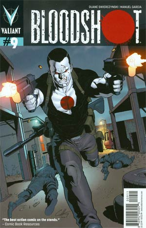 Bloodshot Vol 3 #9 Regular Clayton Henry Cover