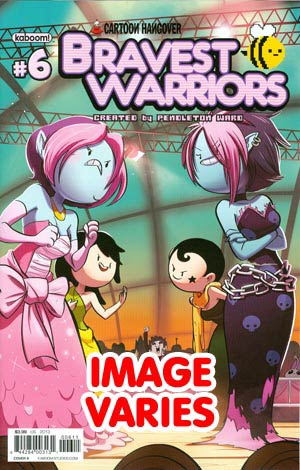 DO NOT USE Bravest Warriors #6 Regular Cover (Filled Randolmy With 1 Of 2 Covers)