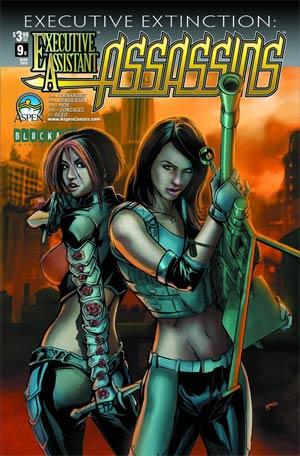Executive Assistant Assassins #9 Cover B Pop Mhan