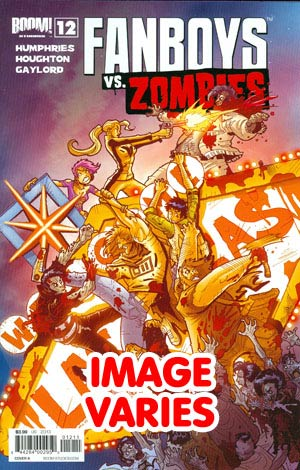DO NOT USE Fanboys vs Zombies #12 Regular Cover (Filled Randomly With 1 Of 2 Covers)