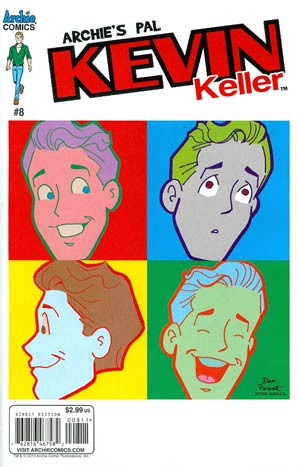 Kevin Keller #8 Regular Dan Parent Cover