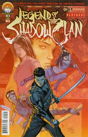 Legend Of The Shadow Clan #2 Regular Aspen Reserved Billy Tan Cover