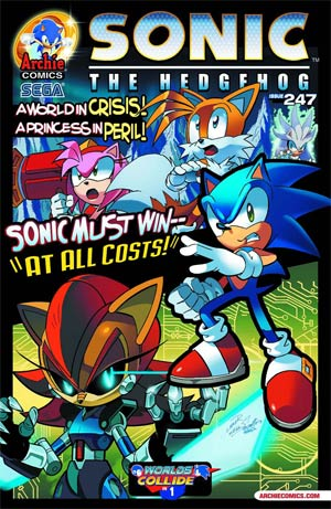 Sonic The Hedgehog Vol 2 #247