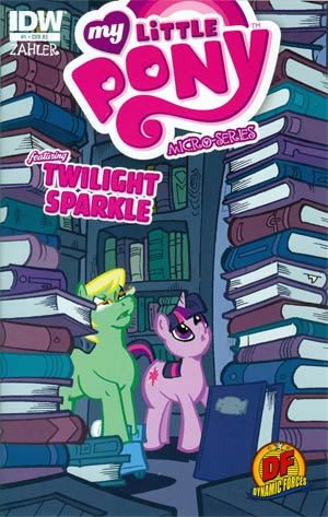 My Little Pony Micro-Series #1 Twilight Sparkle DF Exclusive Variant Cover