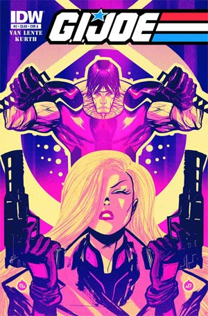 DO NOT USE GI Joe Vol 6 #2 Regular Cover (Filled Randomly With 1 Of 2 Covers)