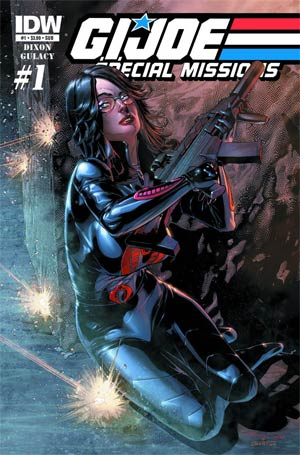 GI Joe Special Missions Vol 2 #1 Variant Baroness Subscription Cover