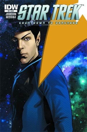 DO NOT USE Star Trek Countdown To Darkness #3 Regular Cover (Filled Randomly With 1 Of 2 Covers)