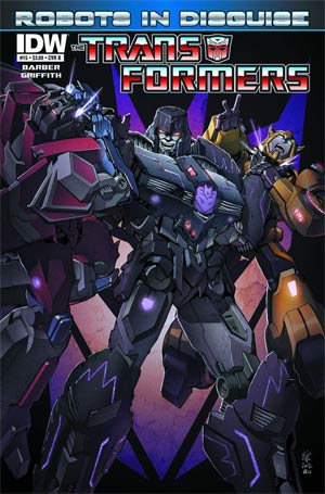 DO NOT USE Transformers Robots In Disguise #15 Regular Cover (Filled Randomly With 1 Of 2 Covers)