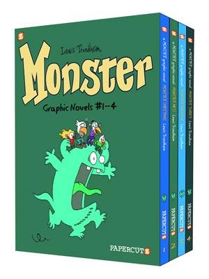 DO NOT USE (DNO) Monster Vol 1-4 HC Box Set
