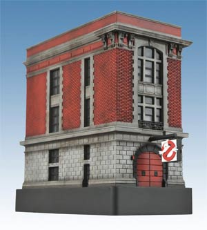 Ghostbusters Light-Up Firehouse Mini Statue