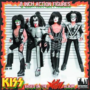 KISS Retro 12-Inch Action Figure Series 3 Sonic Boom Assortment Case