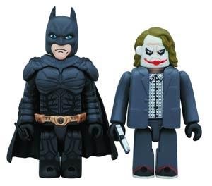 DC Heroes Kubrick 2-Pack - Dark Knight Batman & Joker