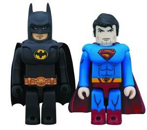 DC Heroes Kubrick 2-Pack - Batman & Superman