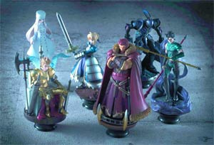 Fate/zero Chess Piece Collection Blind Mystery Box 6-Piece Display