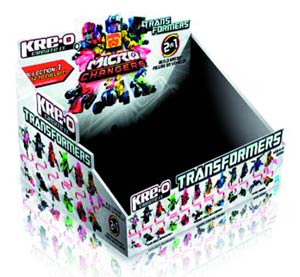 KRE-O Transformers Micro-Changer Blind Mystery Box Display Case 201301