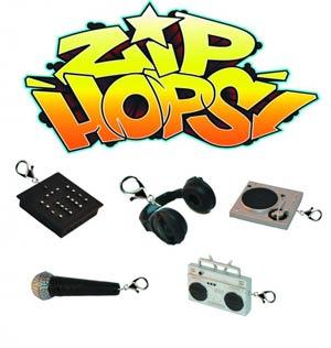 Zip-Hops Zipper Pulls Bling Mystery Box 25-Piece Display