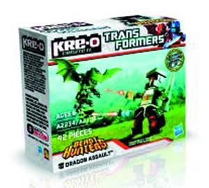 KRE-O Transformers Beast Hunter Figure Pack Assortment Case