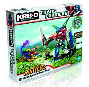 KRE-O Transformers Optimus Prime vs Beast Set