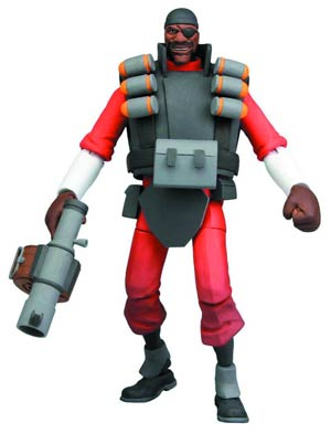 Team Fortress Series 1 Demo 7-Inch Deluxe Action Figure