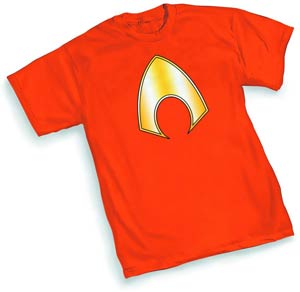Aquaman Symbol T-Shirt Large