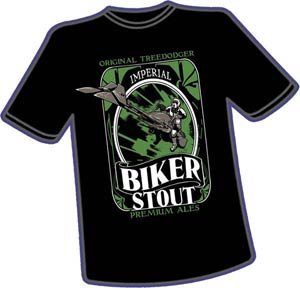 Biker Stout T-Shirt Large