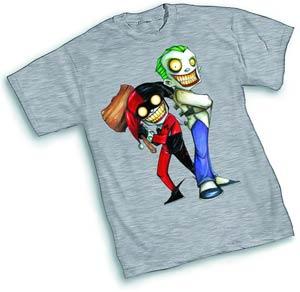 Joker Harley Quinn III T-Shirt Large