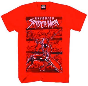 Spider-Man Aethereal Red T-Shirt Large