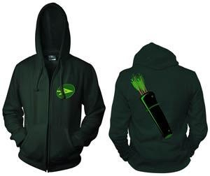 Green Arrow Symbol Full-Zip Hoodie Medium