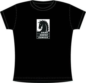 Dark Horse Womens T-Shirt Large