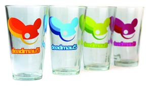 Deadmau5 Pint Glass 4-Pack Set