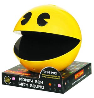 Pac-Man Moneybox With Sound